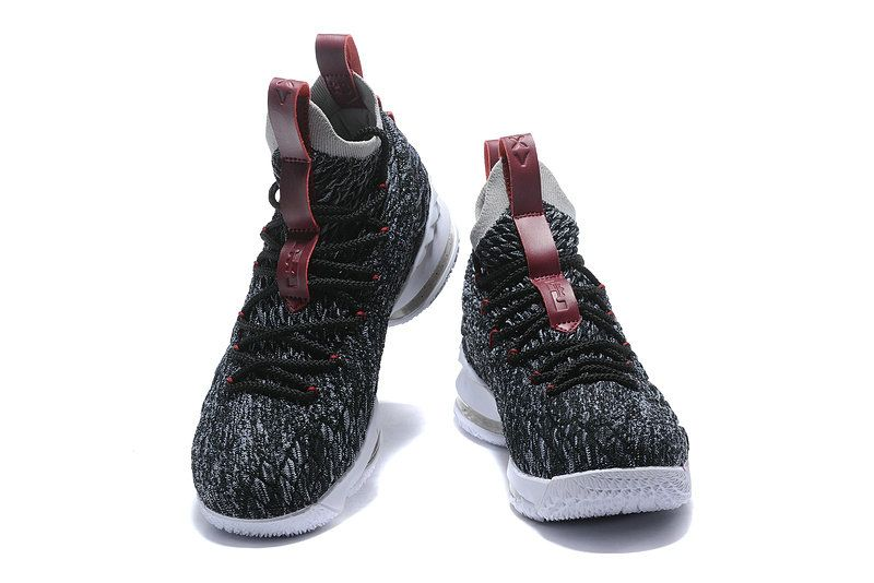 b5ea7bbee67fc Where To Buy Nike LeBron 15 Pride of Ohio Black Taupe Grey-Team Red 897648