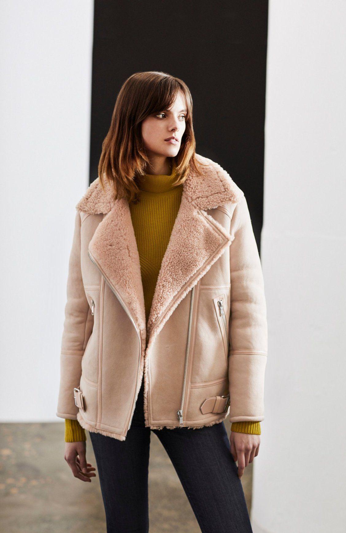 The Darnesha Shearling Coat is as warm as it is pretty. 60fbde032