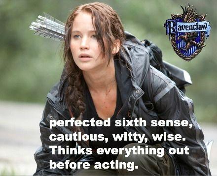Katniss Everdeen, Ravenclaw