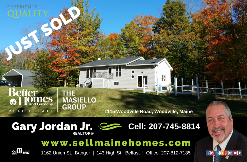 Sold In Woodville Maine Better Homes And Gardens Maine Real
