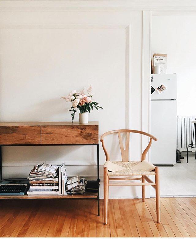 Chaise de salle manger naturel denmark furniture pinterest maison mobilier de salon et deco - Idees decors du milieu du siecle salon ...