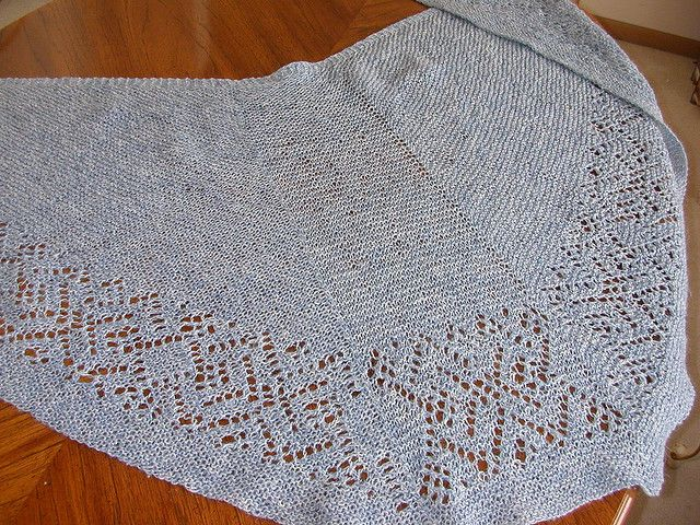 have this pattern - Faroese Shawl by Marilyn van Keppel from best of ...
