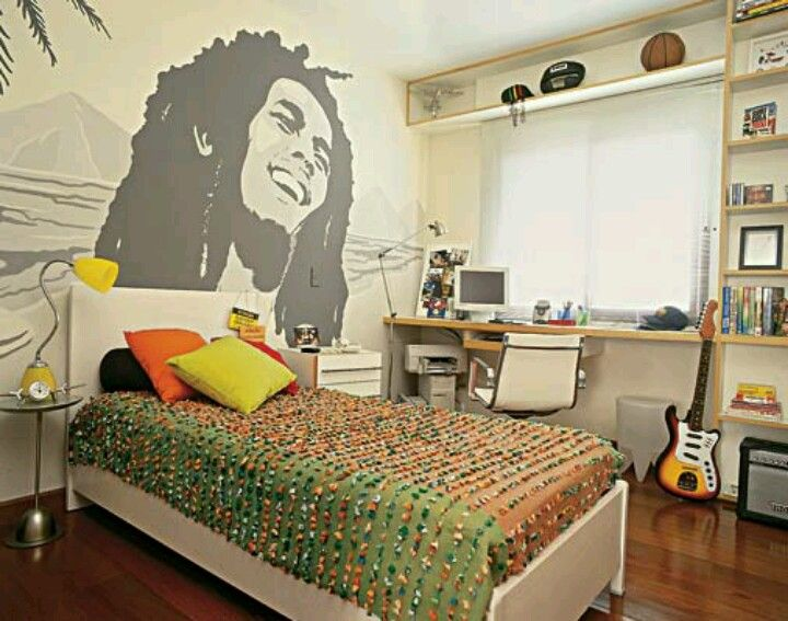 bob marley room | surfer chic | pinterest | bob marley, bobs and room