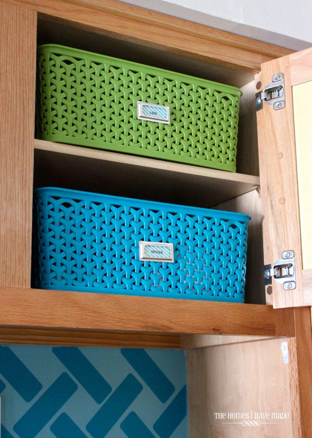 Storage Ideas for Little Upper Cabinets   Pinterest   Storage ideas ...