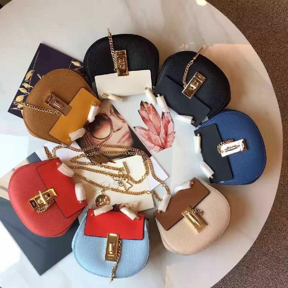 83c3e439fa Authentic Quality 1:1 Mirror Replica Chloe Nano Drew Bag   Authentic ...