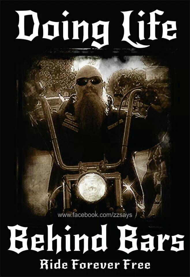 Life behind bars Biker quotes, Harley davidson bikes