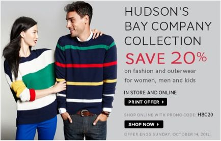 Hudson S Bay Coupons Promo Codes Start Off Your Spring Period Off With Fashion Utilizing Hudson S Bay Coupon Codes Regardless Of Whether You Are Interested