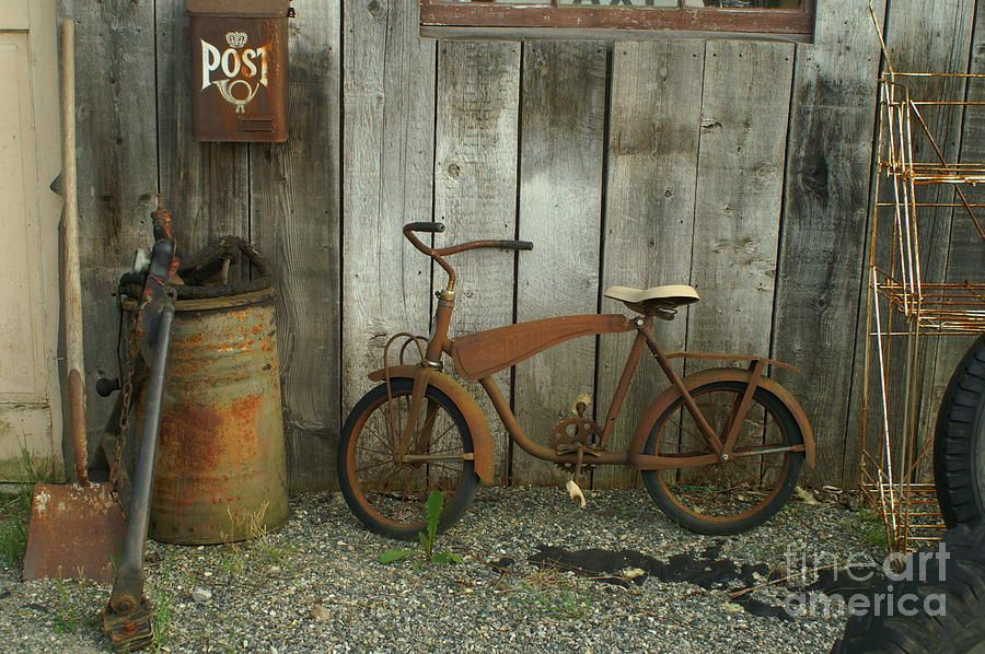 Old Rusty Bike Old Barns Old Bikes Old Things