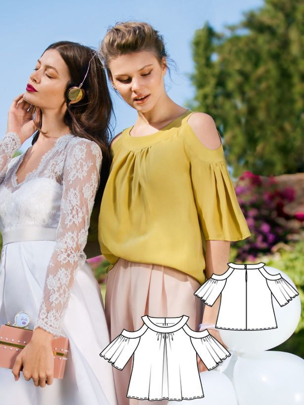 Guest of Honor: 10 NEW Women\'s Sewing Patterns | Burda style ...