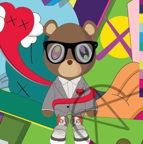 Kanye West Bear Kanye West Bear Bear Art Bear Wallpaper