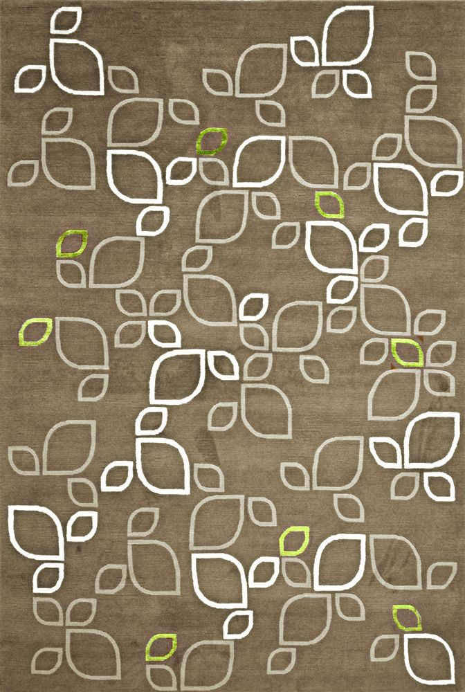 Abstract Glamour Rug Design By Laurie Forehand For DELOS RUGS