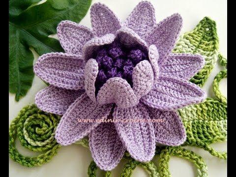 How To Crochet A Flower Crochet Popcorn Stitch Flower Free Pattern