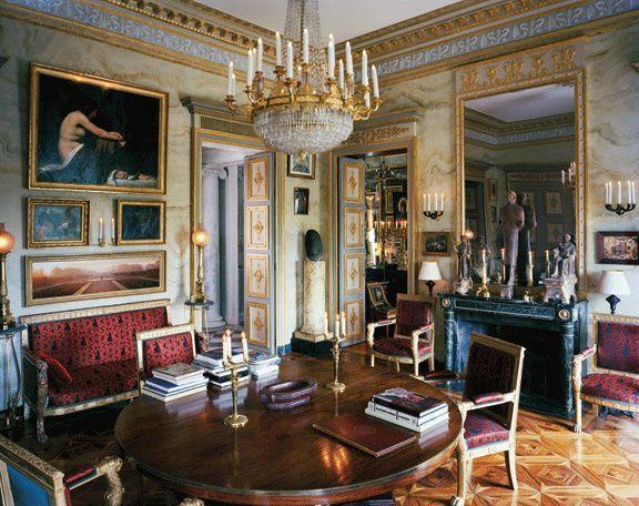 Paris Apartment Of Designer Jacques Garcia With Images Glam