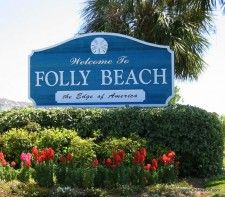 Folly Beach, SC  Would be a great place to be today