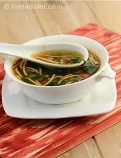 Manchow soup chinese recipe coriander starters and herbs forumfinder Gallery