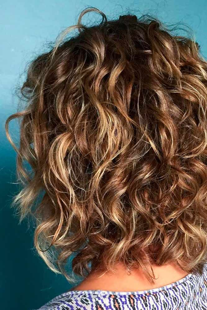 Pretty Dimensional Highlights Styled With Be Curly Waves