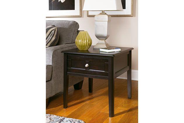Best Black Henning End Table By Ashley Furniture Ashley 400 x 300
