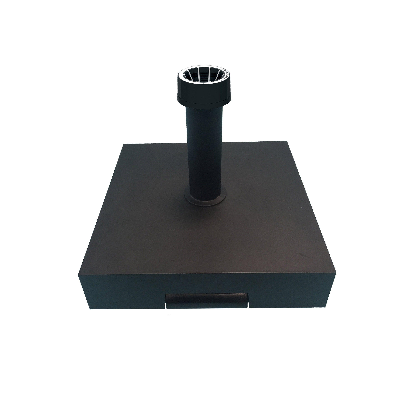 Pied De Parasol Leste Noir 40 Kg Helcosol Products En 2019 Parasol Noir Et Pieds