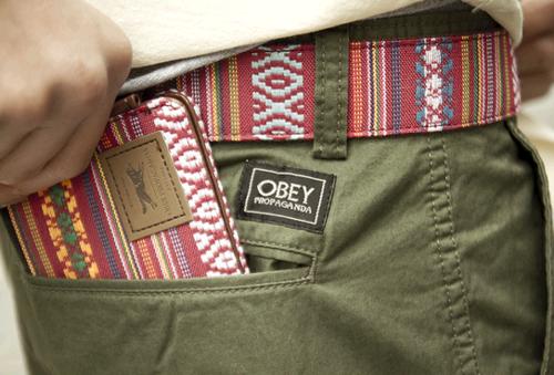 matching belt and wallet:)