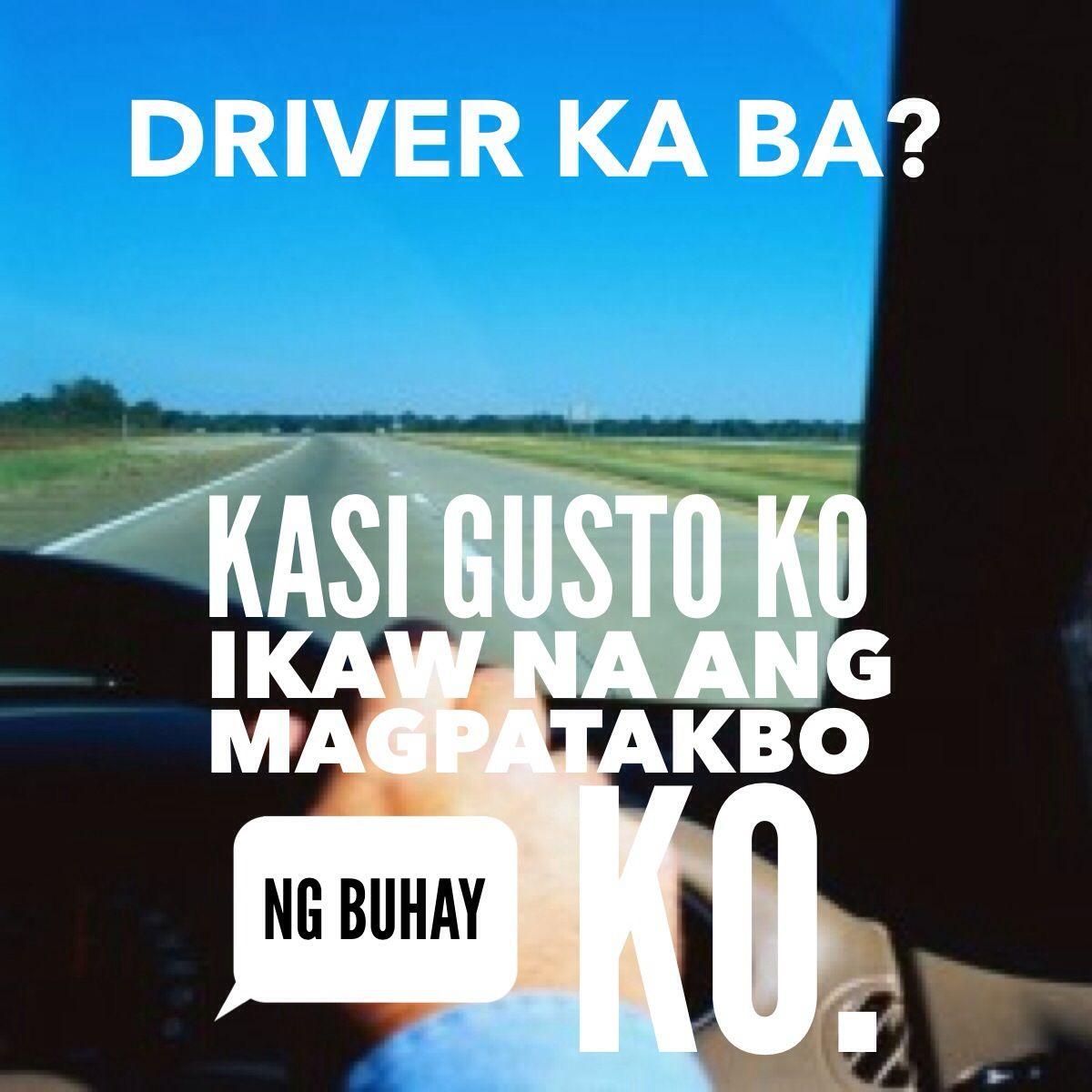 Pinoy PickUp Lines   Tagalog quotes hugot funny, Pick up ...