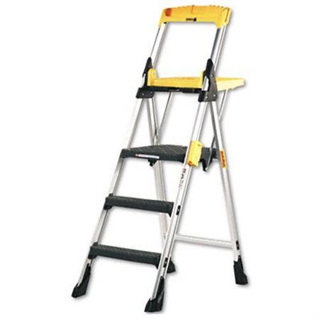 Excellent Cosco Worlds Greatest Ladder 3 Step Stepstool Products Caraccident5 Cool Chair Designs And Ideas Caraccident5Info