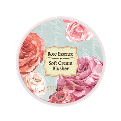 SKINFOOD Rose Essence Soft Cream Blusher (With images