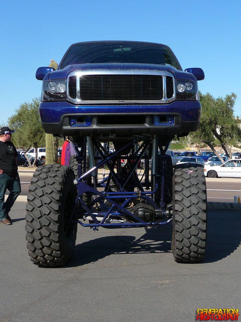 Ford F350 Xlt Super Duty Front Lifted Trucks Monster Trucks