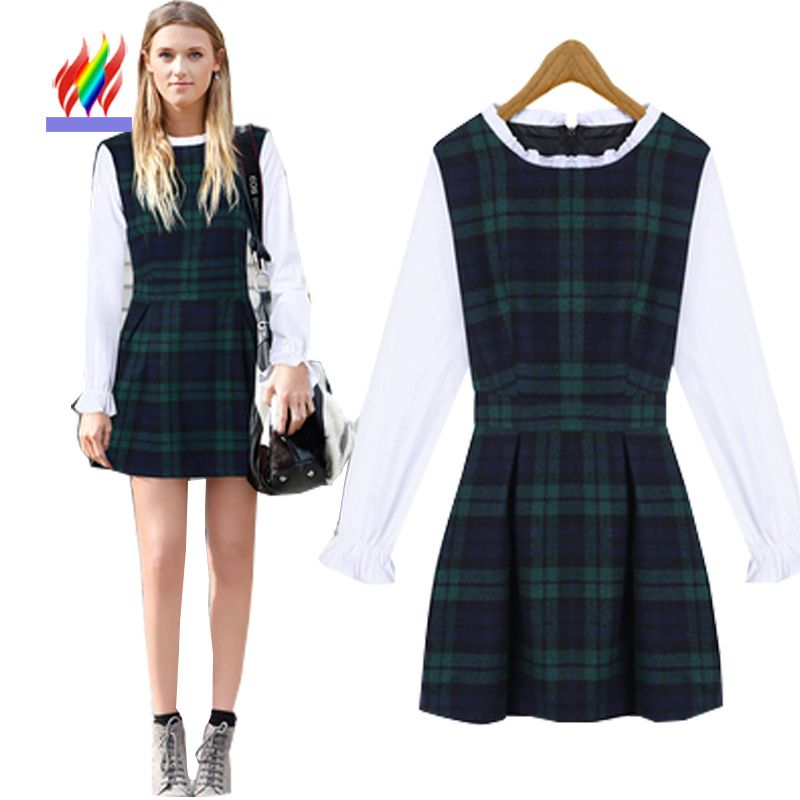Compare Prices on Long Sleeve Winter Dresses for Juniors- Online ...