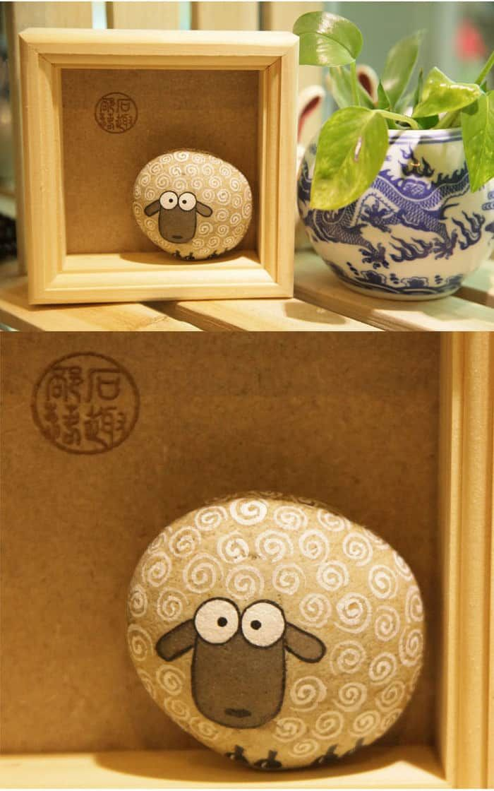 20+ Easy Painted Rock Crafts » Homemade Heather