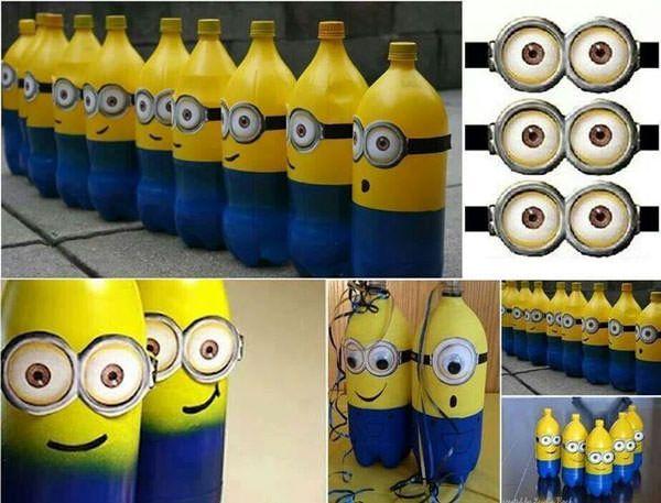 Idee per lavoretti con bottiglie di plastica per bambini