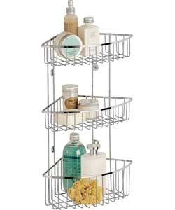 3 tier wall mounted shower caddy things for my house. Black Bedroom Furniture Sets. Home Design Ideas