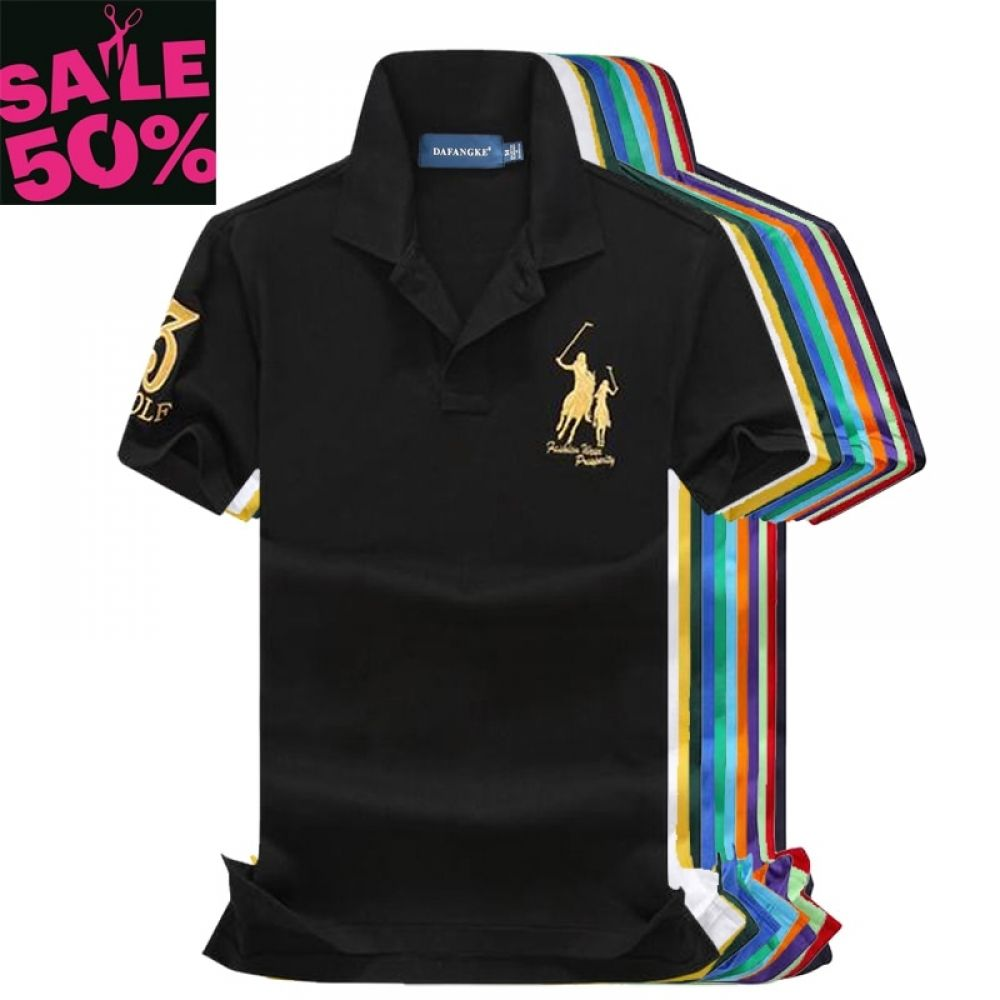 On Sale Original Mesh Cotton 2019 Summer Big Horse Men Short Sleeve Polos Mens Shirts Tops 3 Embroidery Logo Polos Shirt In Polo From Men S Clothing Men S Shirts Tops Mens Outfits