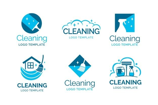 Cleaning Logo Collection Premium Vector Freepik Vector Logo Business House Marketing Cleaning Logo Cleaning Logo Business Clean Logo Design