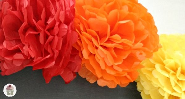 How to make tissue paper flowers tissue paper flowers tissue how to make tissue paper flowers hoosier homemade mightylinksfo