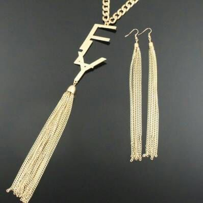 FLY Tassel Necklace by CultureXCynErgy on Etsy