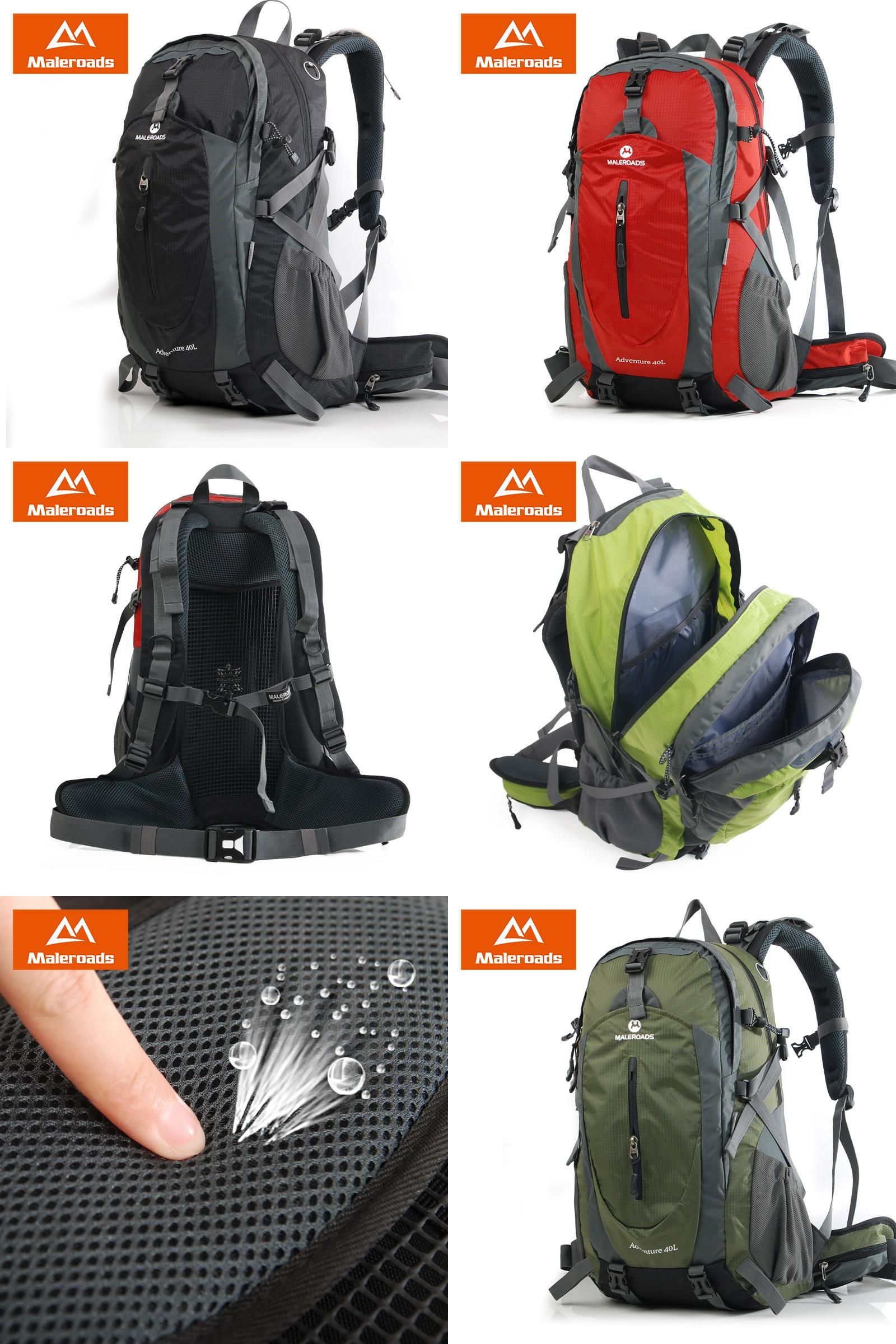 Visit to Buy] 50L Backpack Maleroads Camping Backpack Hiking ...