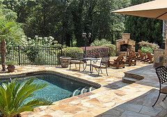 Atlanta-Pool-Deck by ARNOLD Masonry and Landscape, via Flickr