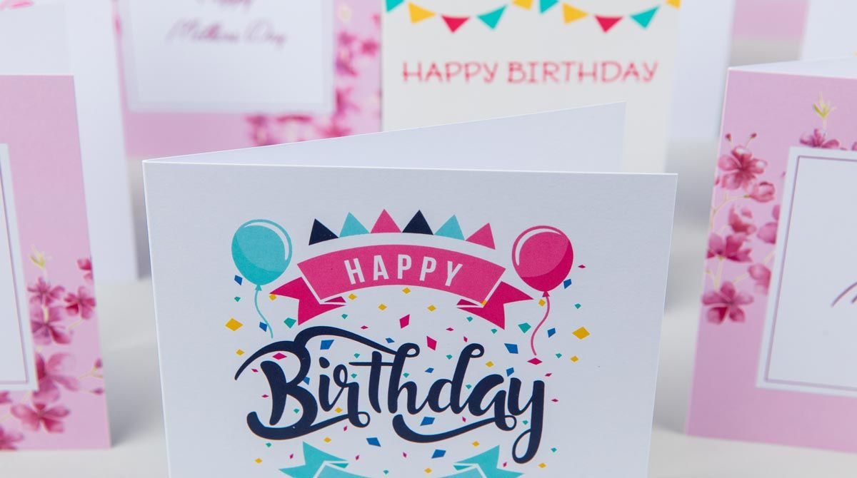 Print Greeting Cards Birthday Card Template Birthday Card