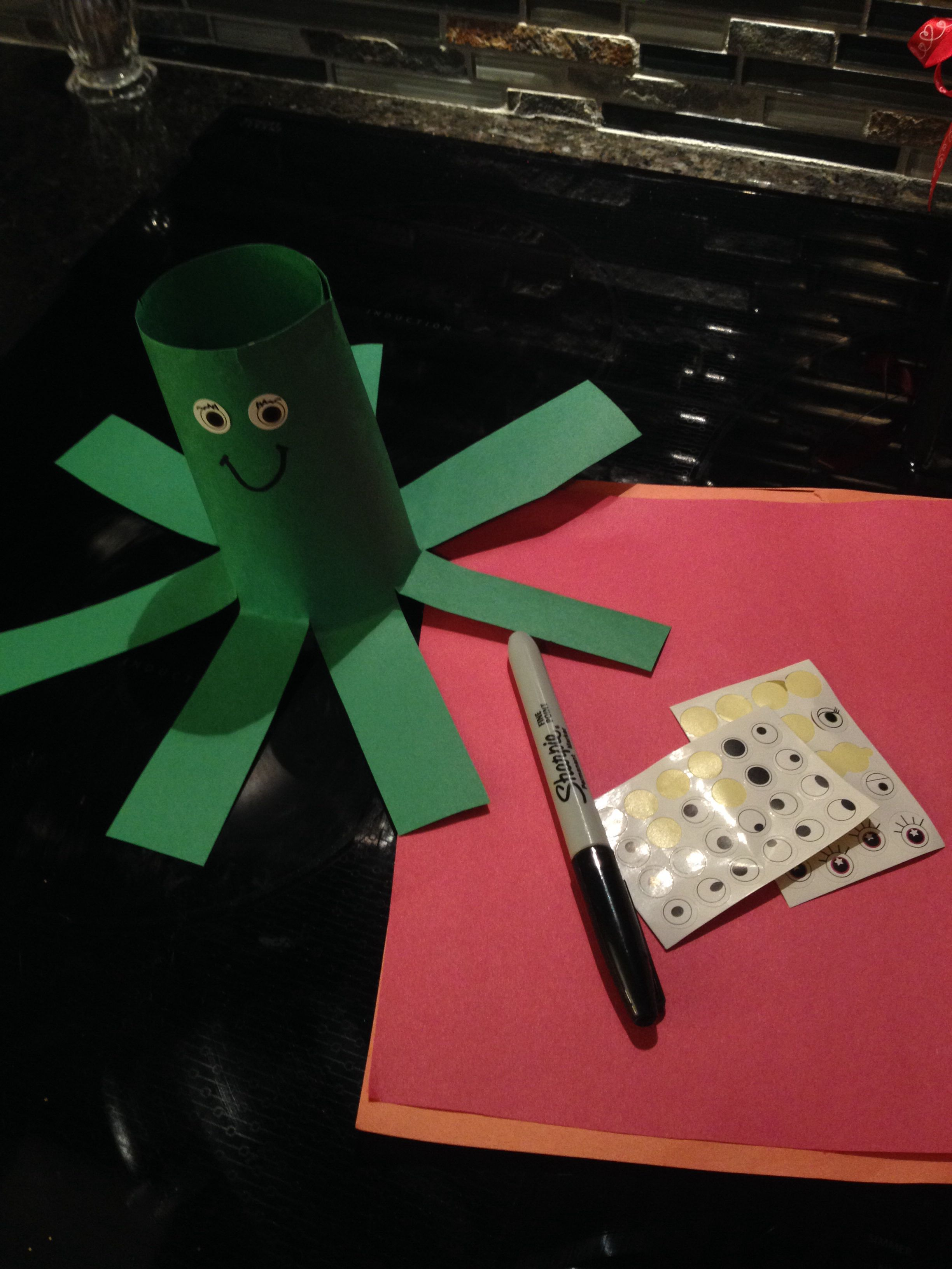 O Is For Octopus Letter O Crafts For Kids Good For