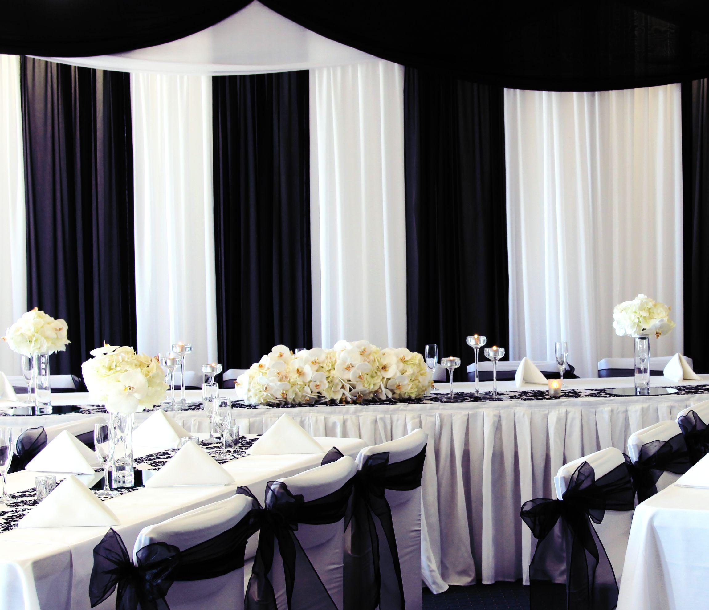Gorgeous Black and White Wedding Idea! - California Weddings At ...