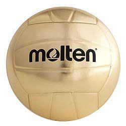 Molten Metallic Gold Award Ball Midwest Volleyball Warehouse Volleyball Volleyballs Molten