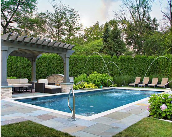 Awesome Beautiful Landscape Design Of Pool Pergola To Enjoy With Sunbath | Pergolas,  Fences And Landscape Designs