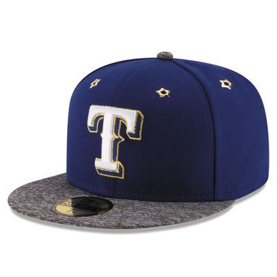 Rangers New Era 2016 All Star Game Authentic Collection 59fifty Fitted Hat Royal Texas Rangers Fitted Hats New Era