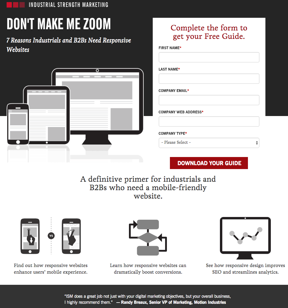 industrial-strength-marketing-landing-page-example.png | My ...