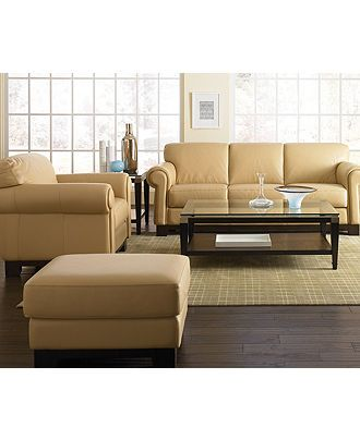 Roma Living Room Furniture Sets Pieces Leather Macy S