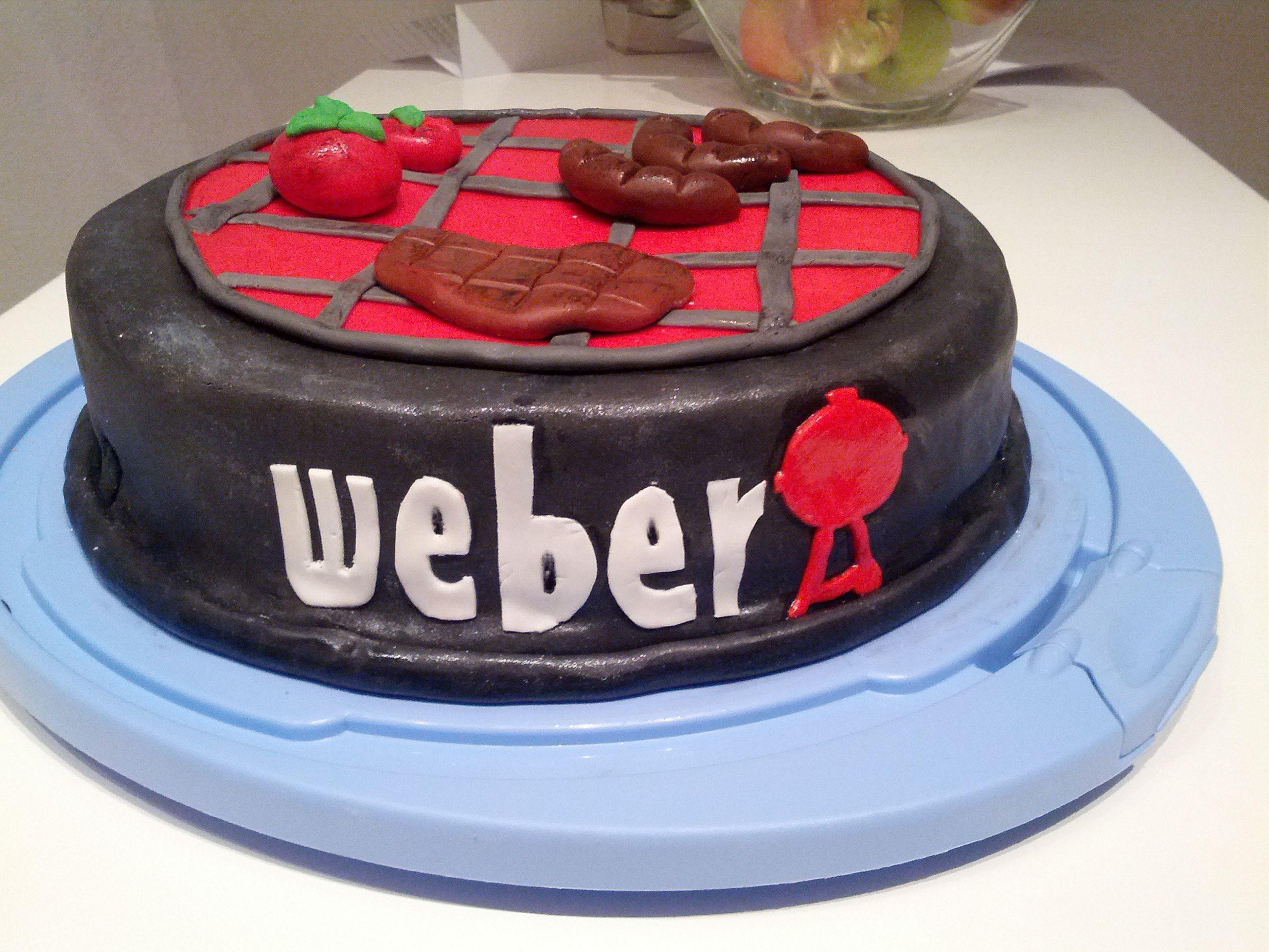 Weber Grill Torte  HELDENTAT  cake pops  more  Kuchen