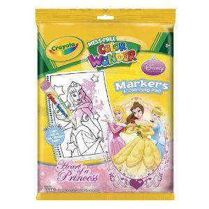 Princess No Mess Coloring Book $8 | Christmas Shopping | Pinterest ...