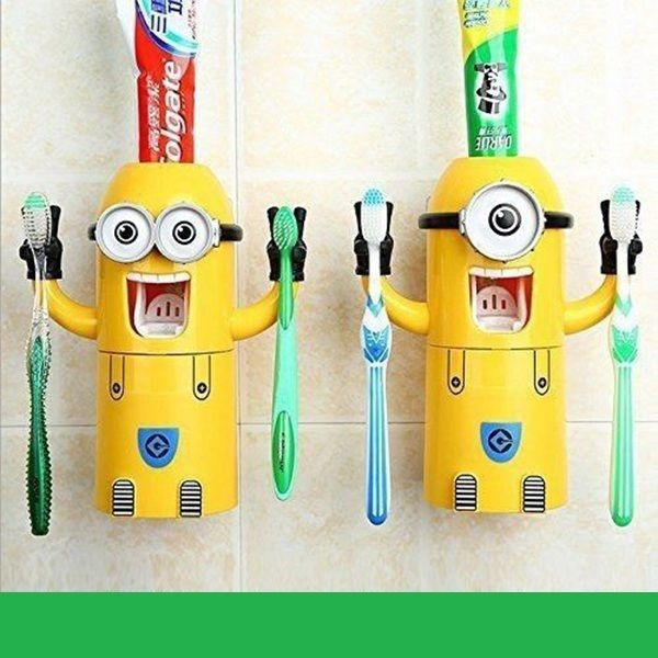 Details About Minions Toothbrush Holder Despicable Me Toothpaste