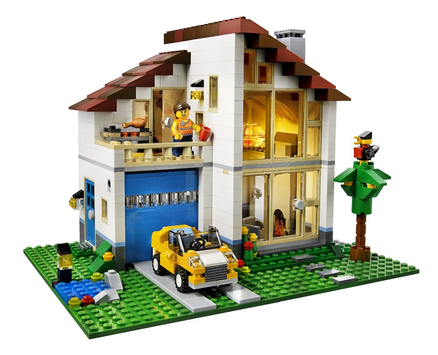 Lego creator 3 in 1 home playsets are awesome lego house for Modele maison lego classic