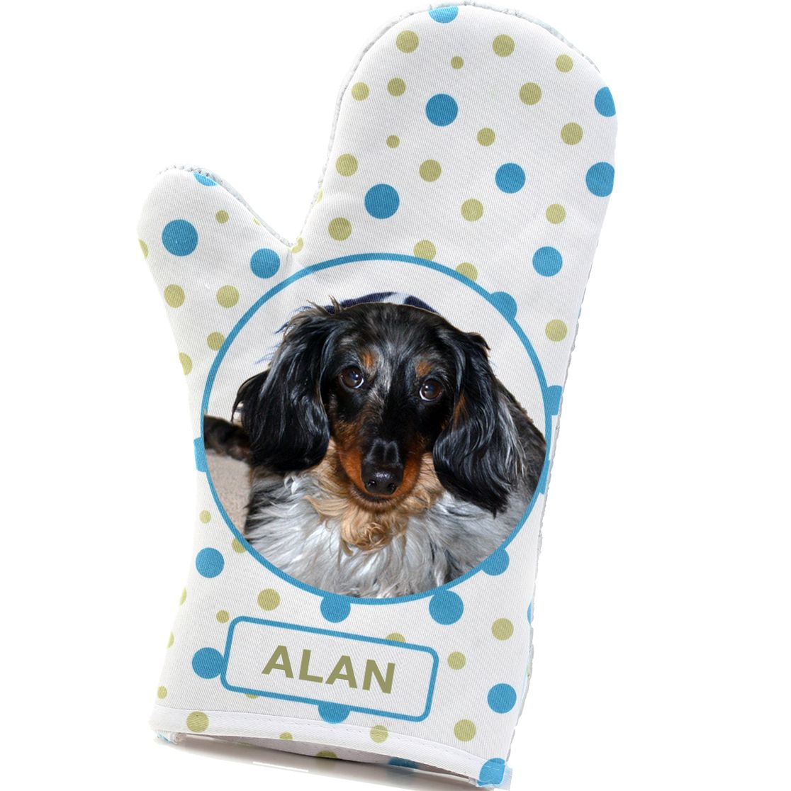 A Personalized Oven Mitt for Mom! Personalized pet gifts
